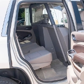 Chevy Tahoe (2006+) Vehicle Partition (Half-Slider Polycarbonate Window Option)